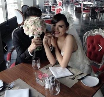 Diễm Hương lộ ảnh cưới sau những scandal muối mặt 6