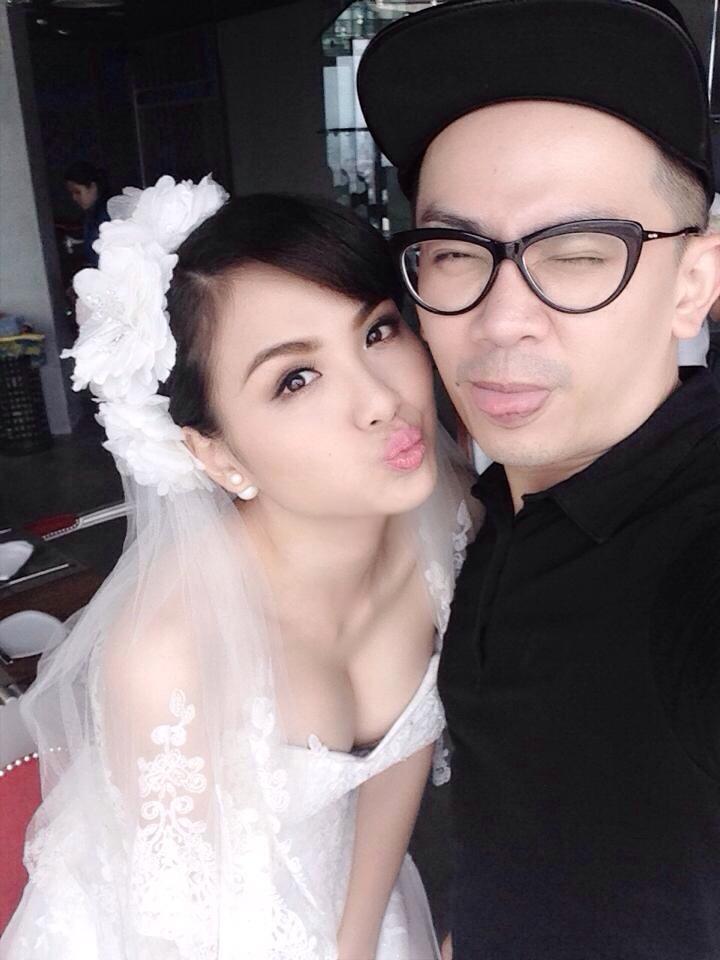 Diễm Hương lộ ảnh cưới sau những scandal muối mặt 9