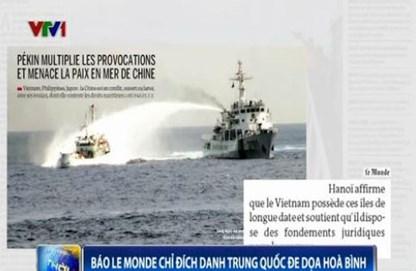 Tàu TQ đâm tàu Kiểm Ngư 951 biến dạng, vu cáo và đe dọa hòa bình 9