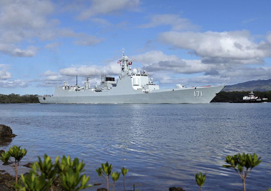 Chiến hạm TQ đến Hawaii, tham gia tập trận hải quân lớn nhất thế giới 8