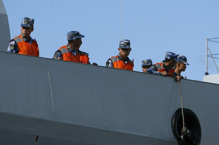 Chiến hạm TQ đến Hawaii, tham gia tập trận hải quân lớn nhất thế giới 10