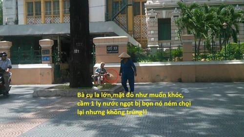 Xôn xao thông tin nhiều người tấn công bà cụ mù ngay tại trung tâm Sài Gòn 8