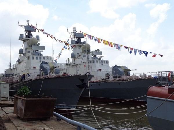 Bàn giao 2 tàu tên lửa hiện đại do Việt Nam tự đóng cho Quân chủng Hải quân 4