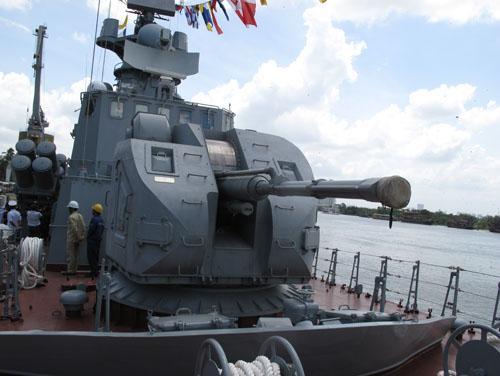 Cận cảnh sức mạnh hai tàu tên lửa đầu tiên Việt Nam tự đóng 2