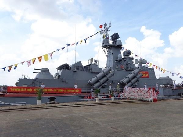 Cận cảnh sức mạnh hai tàu tên lửa đầu tiên Việt Nam tự đóng 3