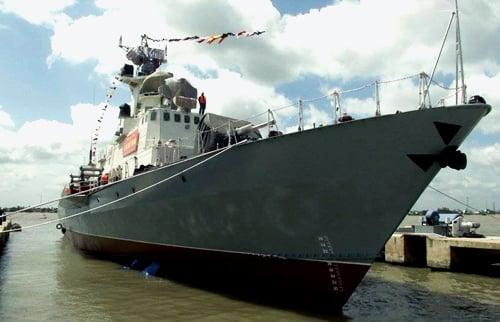 Cận cảnh sức mạnh hai tàu tên lửa đầu tiên Việt Nam tự đóng 4