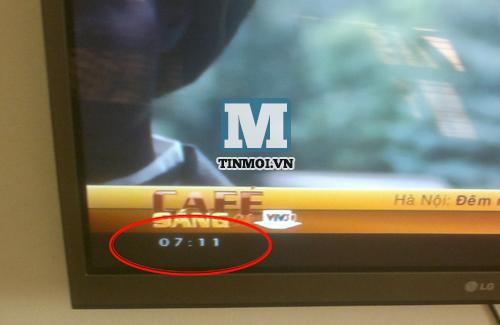 Vì sao VTV1 sáng nay không hiển thị đồng hồ? 7