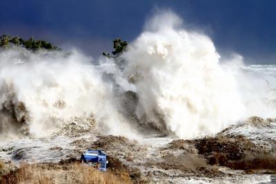 Sóng thần bất ngờ tấn công bờ biển Ukraine 6