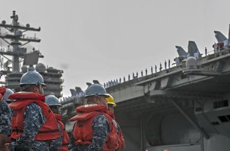 Cận cảnh sức mạnh tàu sân bay Mỹ tham gia tập trận chung RIMPAC 6