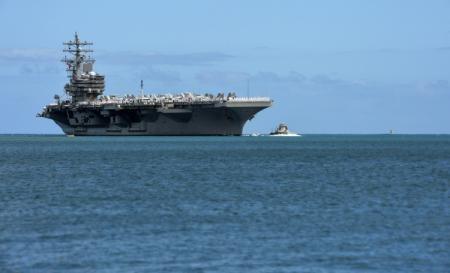 Cận cảnh sức mạnh tàu sân bay Mỹ tham gia tập trận chung RIMPAC 9