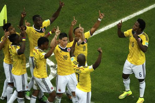 Kết quả World Cup 2014 Uruguay 0-2 Colombia: Rodriguez vượt mặt Messi, Neymar 6