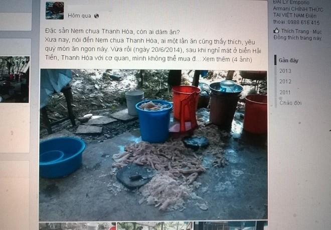 Hàng loạt cơ sở chế biến nem chua Thanh Hóa bị kiểm tra 6