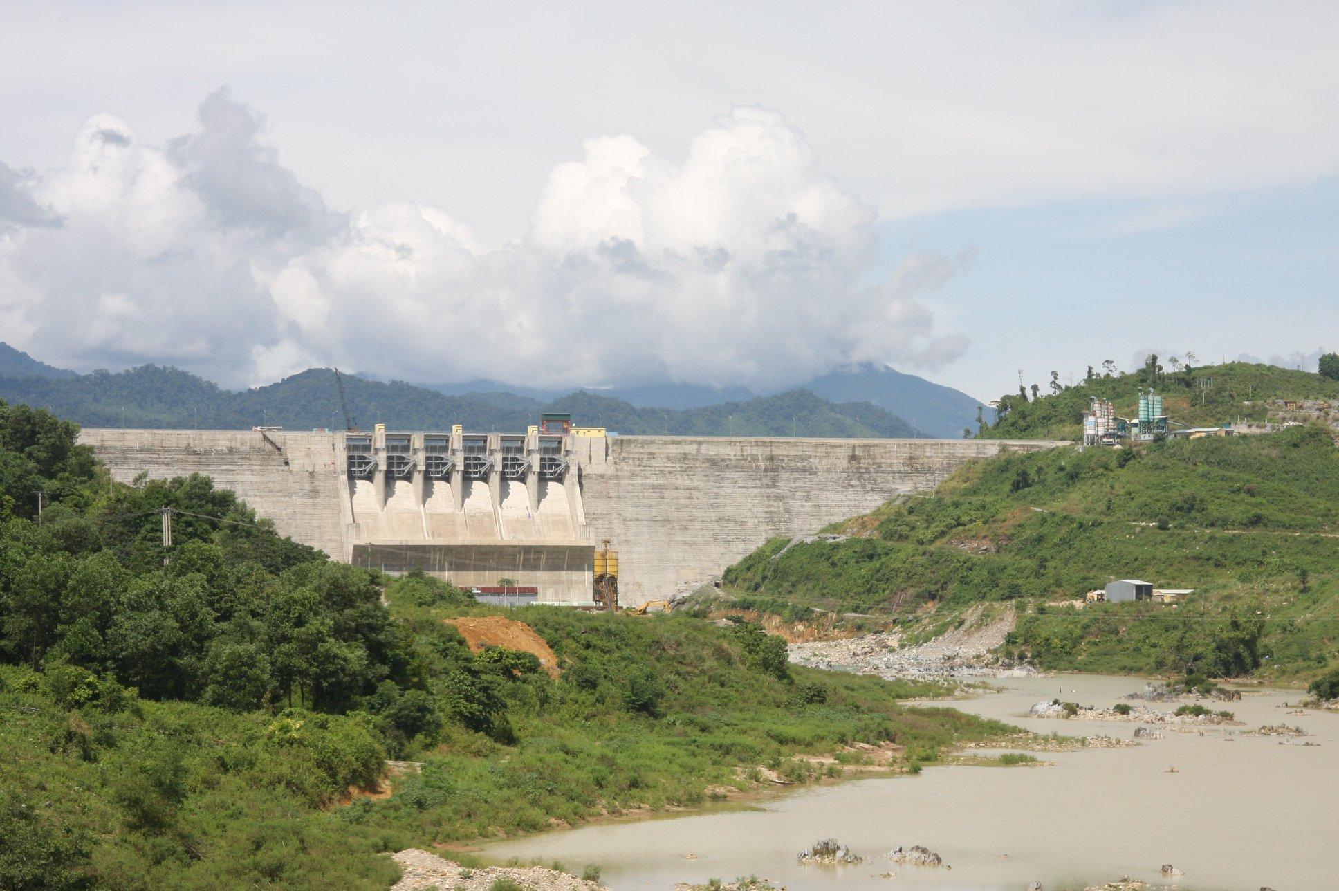 1 phút, 2 trận động đất tại thủy điện Sông Tranh 2 5