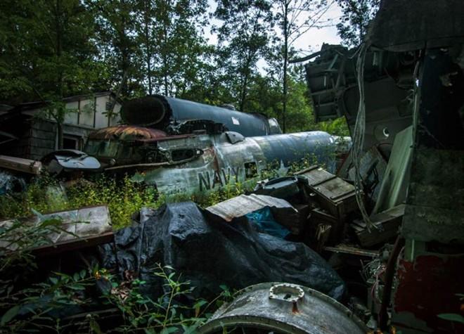 Nghĩa địa máy bay chiến đấu thời Thế chiến II 11