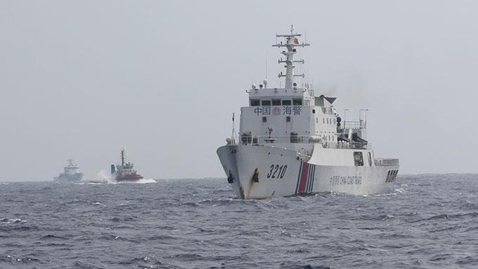 Trung Quốc huy động 120 tàu 'hộ tống' giàn khoan 5