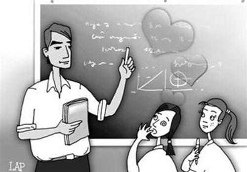 Nữ sinh phát hoảng khi bị thầy giáo tán tỉnh yêu đương 6