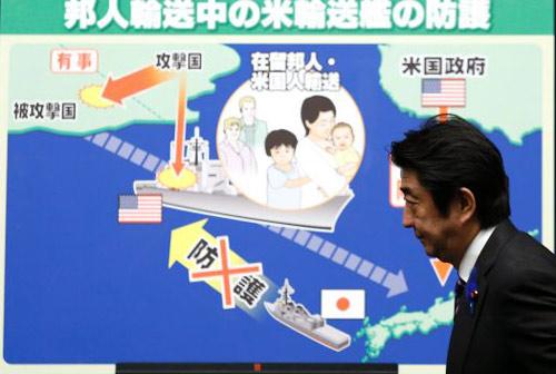 Nhật Bản nới Hiến pháp đẩy Trung Quốc vào thế