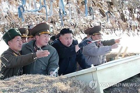 'Dằn mặt Trung - Hàn, Triều Tiên tổ chức tập trận quy mô lớn 6