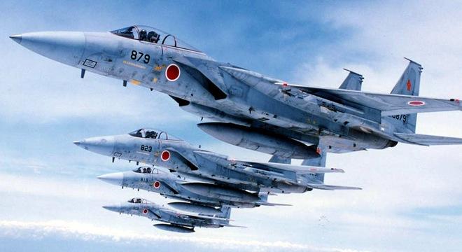 Số lần máy bay Nhật xuất kích chặn Trung Quốc tăng kỷ lục 5