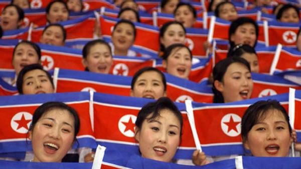 Triều Tiên gửi đội cổ động xinh đẹp tới Hàn Quốc 9