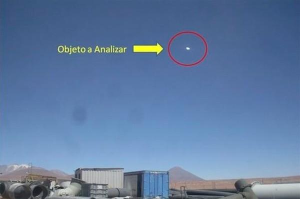 Đĩa bay của người ngoài hành tinh bất ngờ xuất hiện ở Chile 8