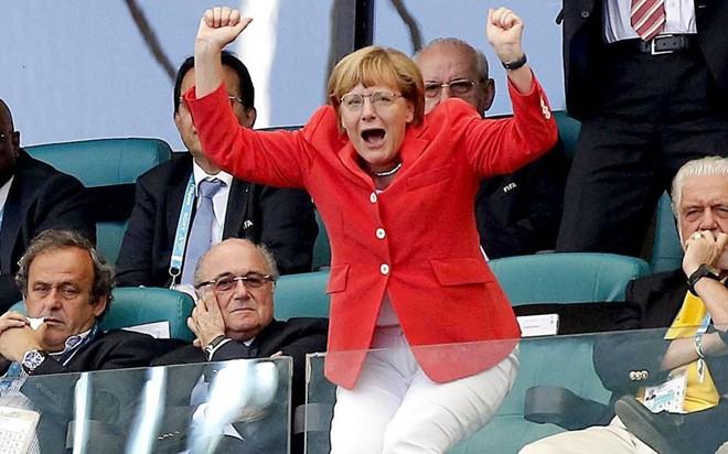 Hình ảnh Thủ tướng Đức hủy hẹn với người đồng cấp Ấn Độ vì... bận xem World Cup số 2