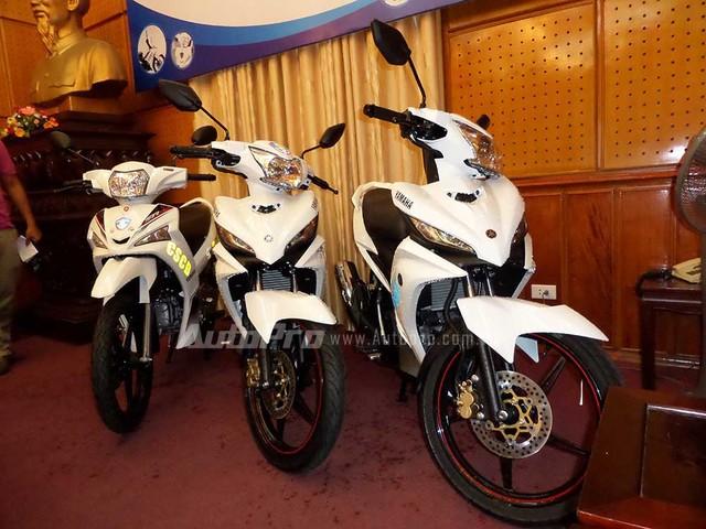 Yamaha Việt Nam trang bị xe mới cho lực lượng công an 7