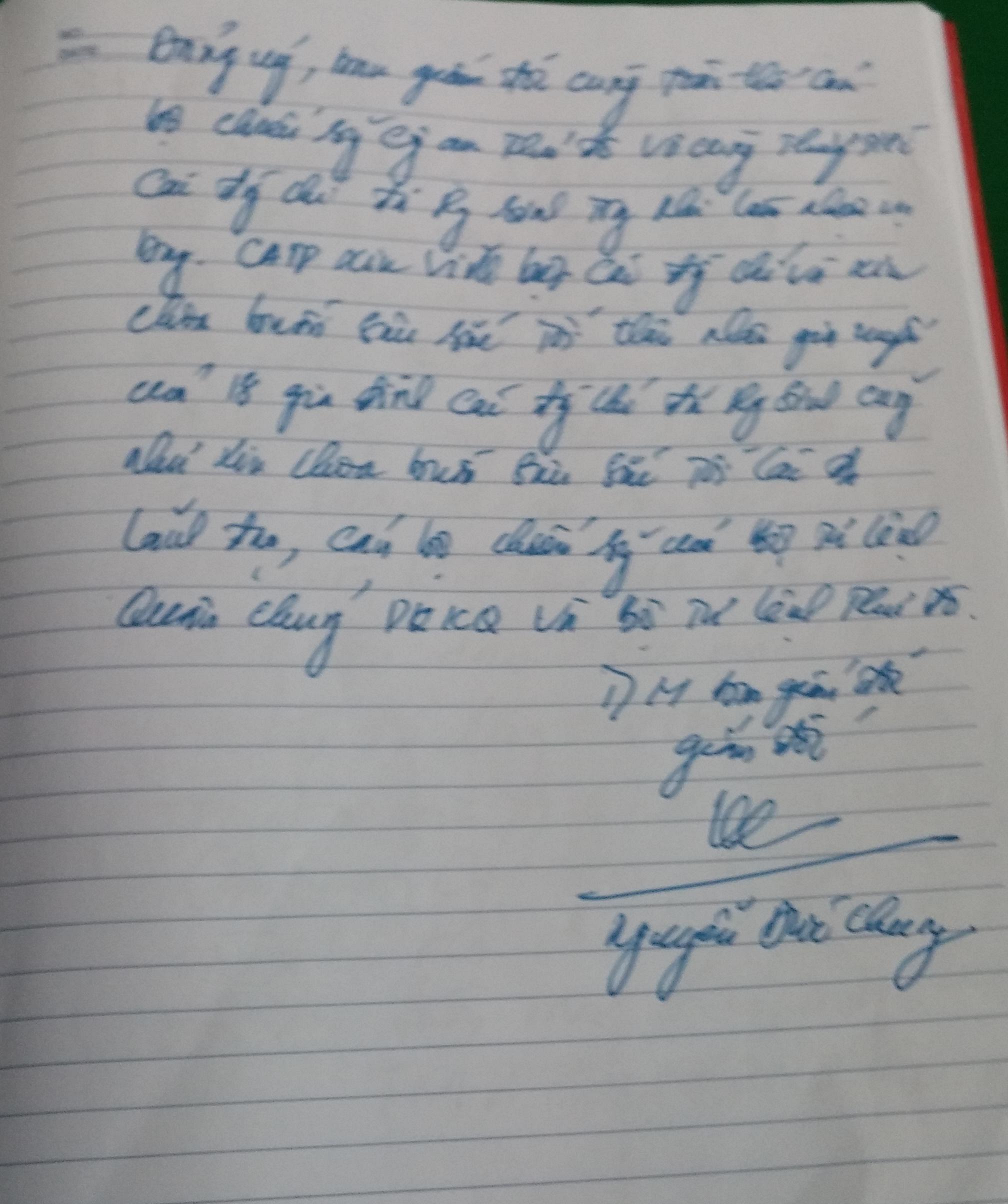 Hình ảnh Xúc động những dòng lưu bút trong sổ tang tiễn 18 liệt sĩ số 8