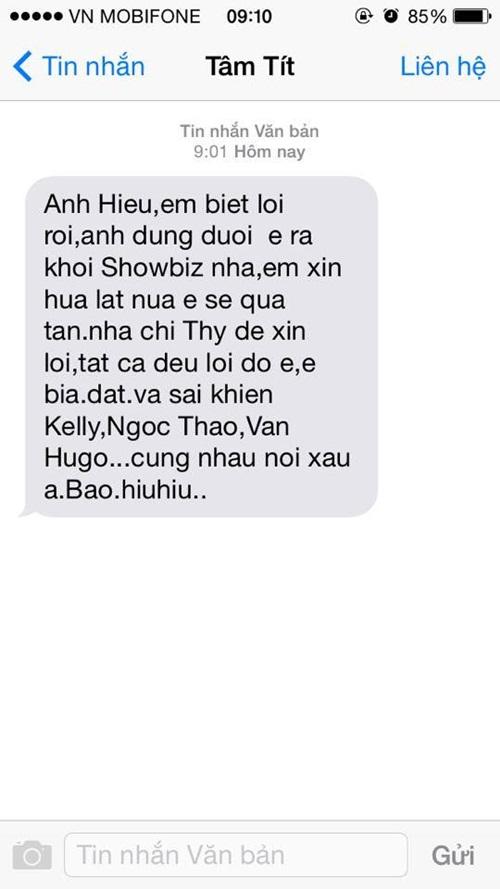 Lộ tin nhắn Tâm Tít lừa gạt và sai khiến bạn bè 7