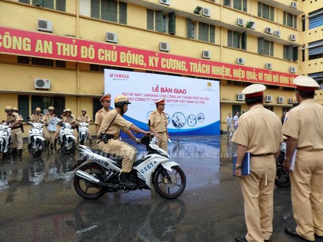 Yamaha Việt Nam trang bị xe mới cho lực lượng công an 5