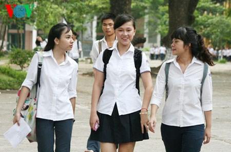 Điểm chuẩn vào 10: THPT Chu Văn An, Thăng Long cao nhất Hà Nội 6