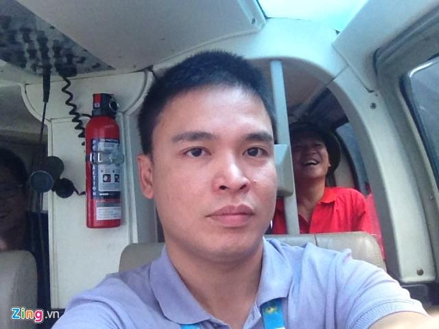 Fan Việt thuê trực thăng xem trận Brazil - Hà Lan trên cao 8