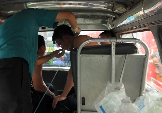 9 chiến sĩ ngạt khí độc trong lúc chữa cháy tại Đà Nẵng 14