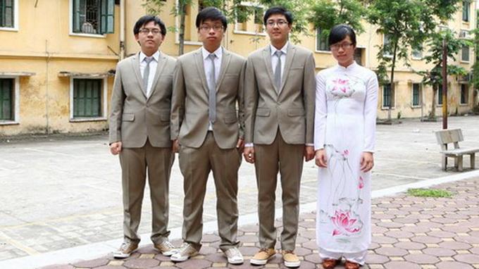 Việt Nam giành 4 huy chương Olympic sinh học quốc tế 4