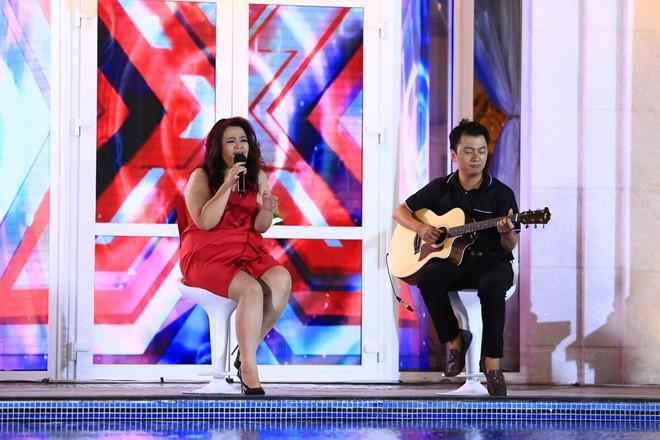 Mr Đàm mượn nhà chồng Hà Tăng để loại thí sinh X Factor 6