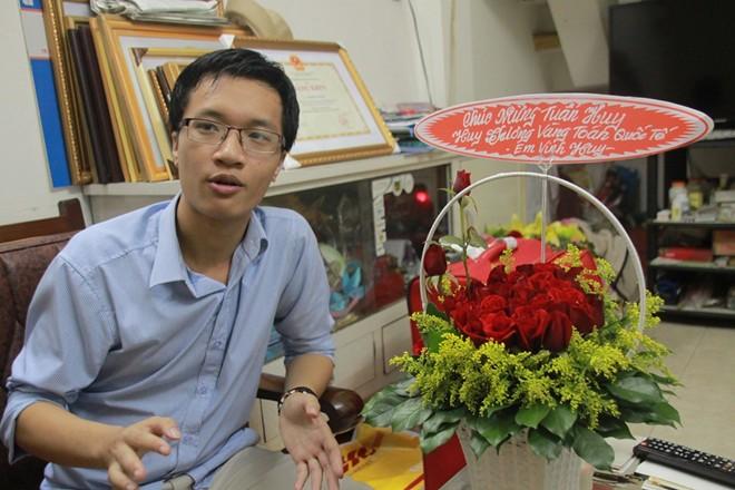 Chân dung cậu học sinh lập lại thành tích của GS Ngô Bảo Châu 4