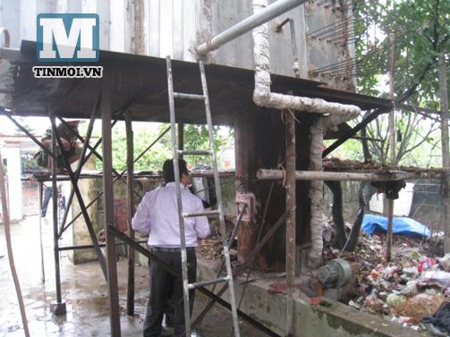 Phát minh nông dân: Lò đốt rác phát điện có thể nổ như bom 7