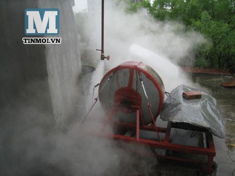 Phát minh nông dân: Lò đốt rác phát điện có thể nổ như bom 6