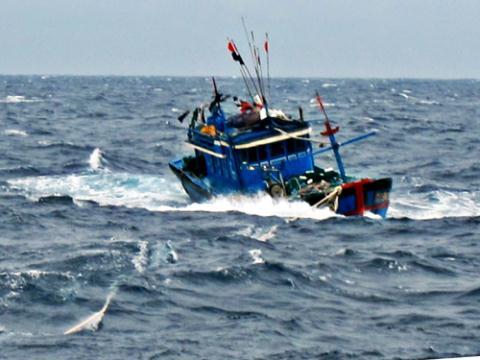 Thông tin mới nhất vụ 13 ngư dân Việt Nam bị Trung Quốc bắt giữ 5
