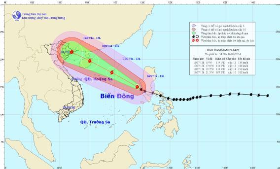 Bão Thần Sấm giật cấp 17 có khả năng đổ bộ vào Nam Định và Hải Phòng 6