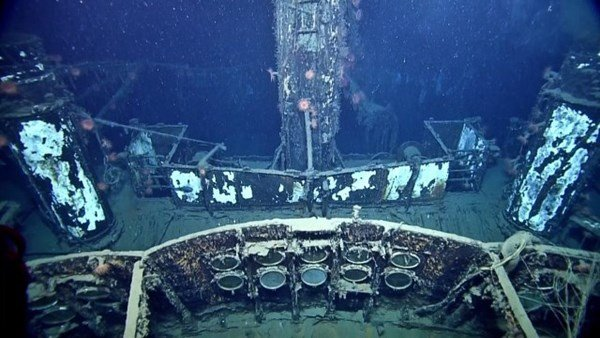 Cận cảnh xác tàu ngầm từng đánh bại hàng loạt tàu chiến Mỹ 8