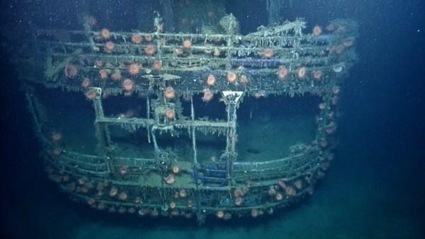 Cận cảnh xác tàu ngầm từng đánh bại hàng loạt tàu chiến Mỹ 9