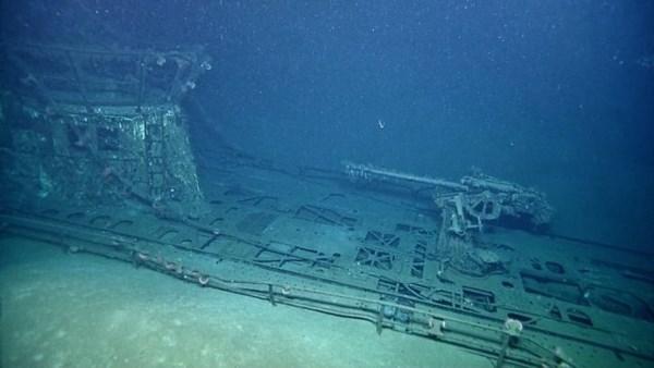 Cận cảnh xác tàu ngầm từng đánh bại hàng loạt tàu chiến Mỹ 11