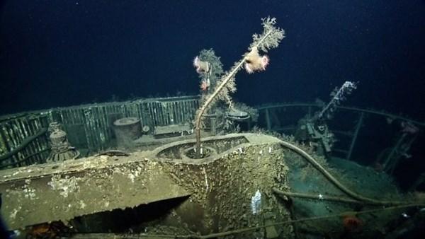 Cận cảnh xác tàu ngầm từng đánh bại hàng loạt tàu chiến Mỹ 13