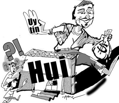 Quảng Nam: Ôm tiền tỷ bỏ trốn vì chơi hụi 5
