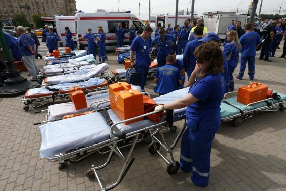 Thảm kịch tàu điện ngầm Nga, 22 người chết, hàng trăm người bị thương 8