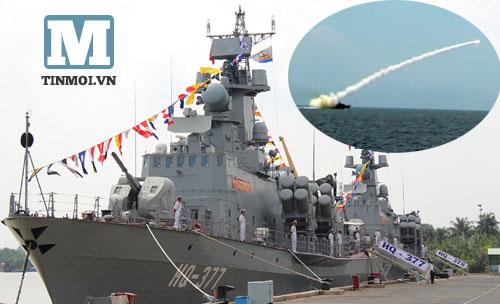 Hải quân VN tiếp nhận 2 tàu tên lửa có thể đánh chìm chiến hạm nghìn tấn 6
