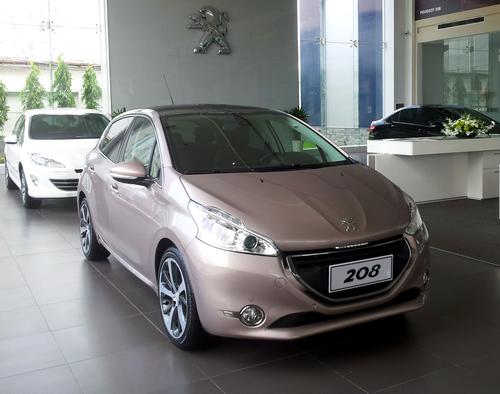 Peugeot công bố giá chính thức của 208 và 508 tại Việt Nam 5