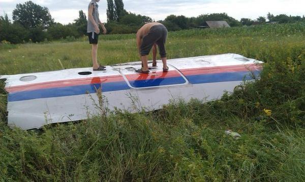 Cận cảnh máy bay Malaysia bị tên lửa bắn rơi ở Ukraina 13