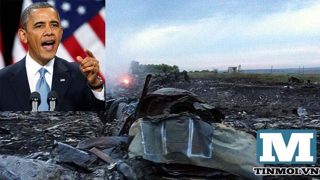 Tổng thống Mỹ khẳng định MH17 bị bắn từ khu vực phe ly khai kiểm soát 6